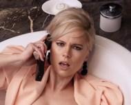Woman gossiping on phone