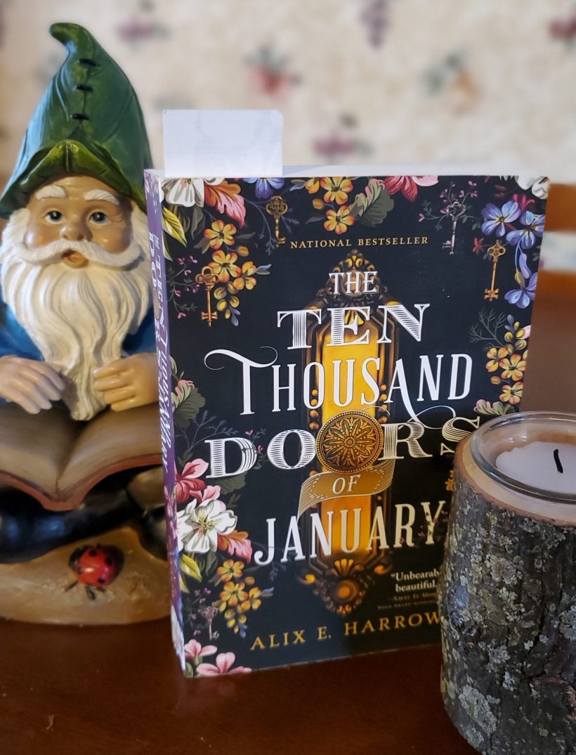 Book and gnome