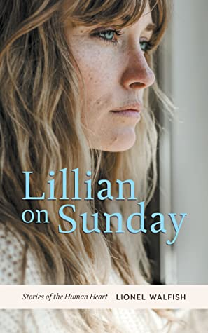 Woman with long hair and book title Lillian on Sunday
