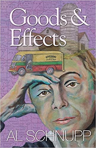 goods & effects cover image of a woman leaning her head on her hand