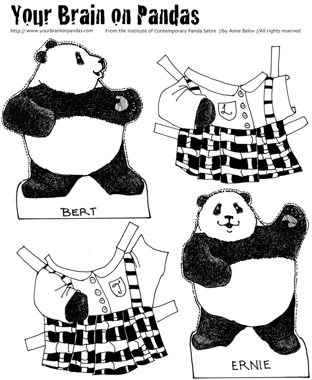 school uniforms for pandas