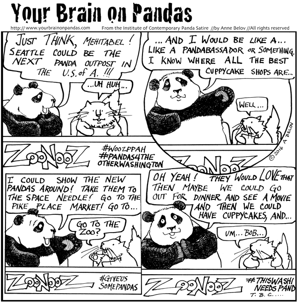 If only we could have just a couple of pandas....