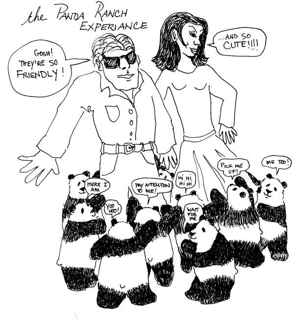 2) Life on the panda ranch