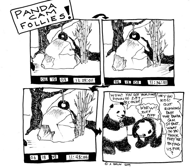 In the early days of panda cams....