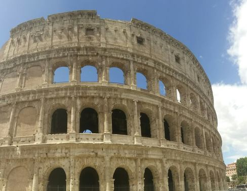 The Colosseum (it was actually smaller than what I thought it would be)