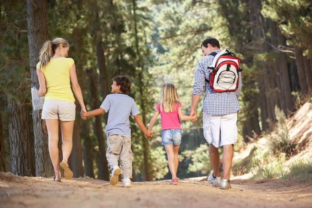 The gatlinburg trail is an easy, accessible trail that runs from the sugarlands visitor center and follows the river to the border of gatlinburg. Families Enjoy Fun Educational Gatlinburg Trail Hike