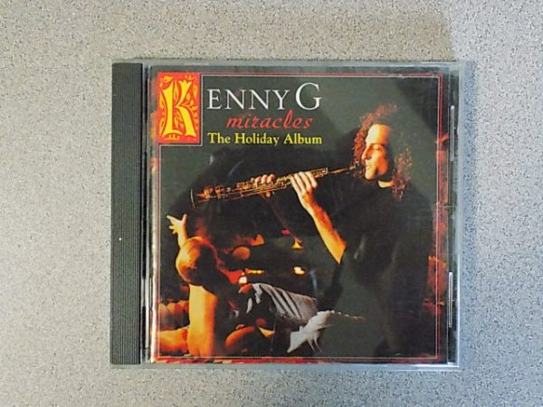 kenny g miracles the holiday album cd