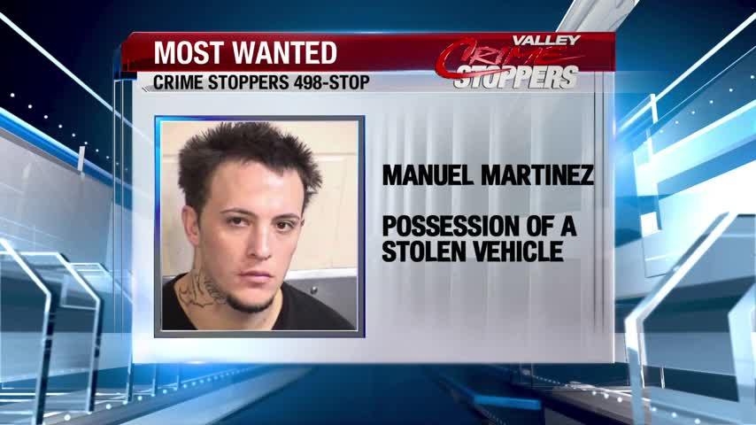 Crime Stoppers Most Wanted: Manuel Martinez