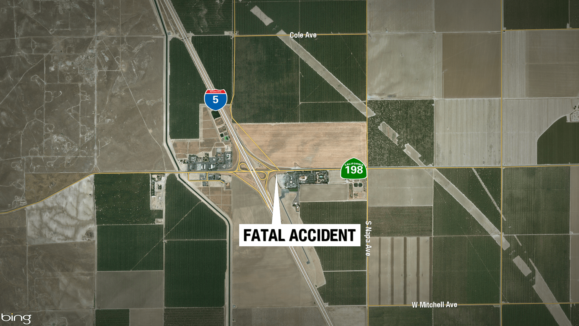CHP responds to fatal accident west of Lemoore