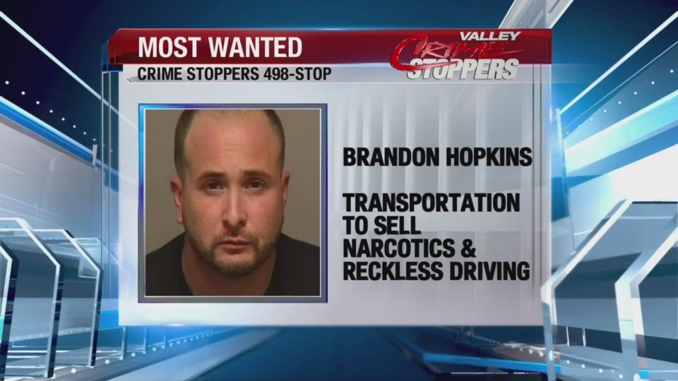 Crime Stoppers Most Wanted: Brandon Hopkins