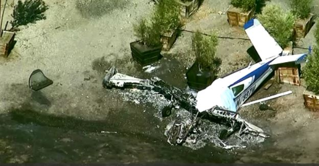 Second Plane Crashes At Southern California Airport Hours