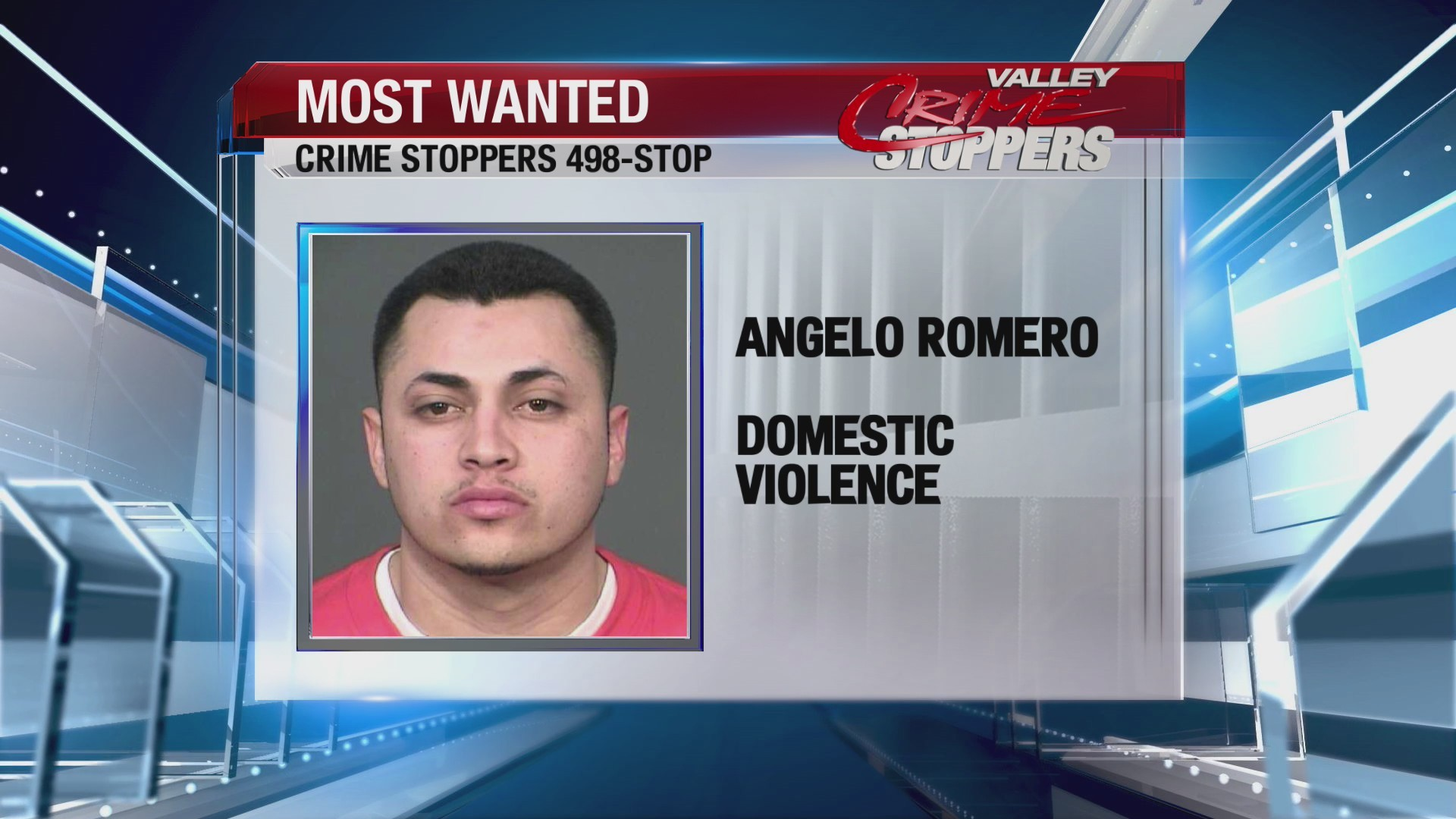 Crime Stoppers Most Wanted: Angelo Romero