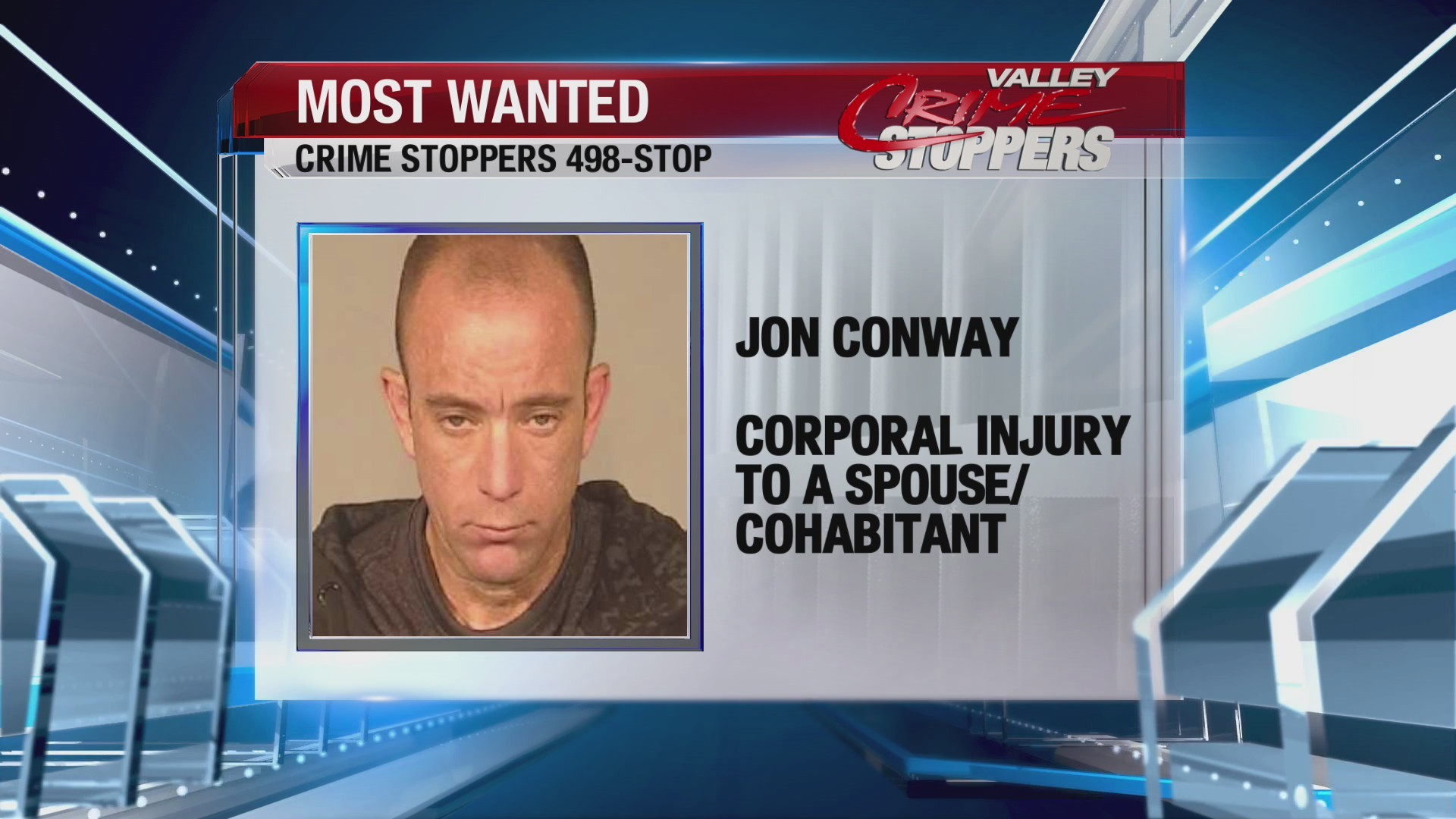 Crime Stoppers Most Wanted: Jon Conway