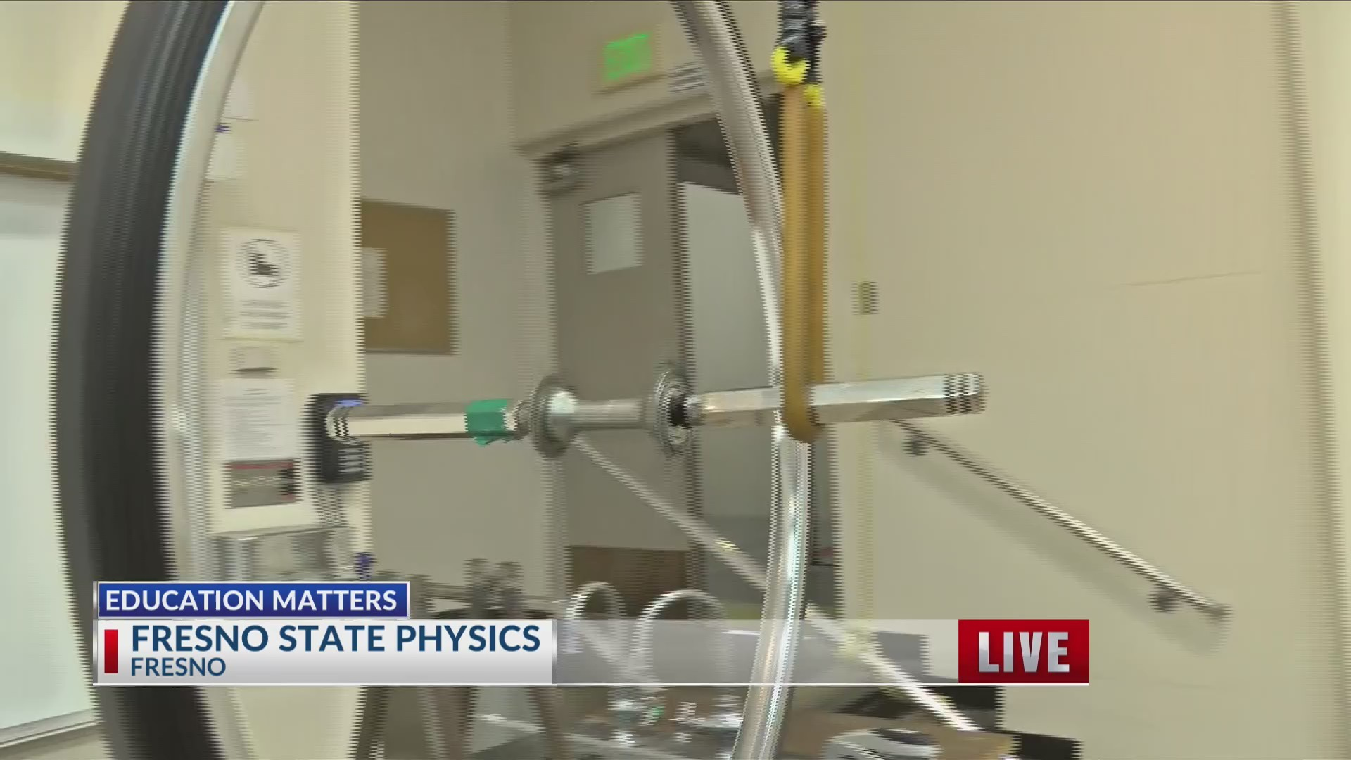Fresno State Physics Outreach prepares impressive experiments