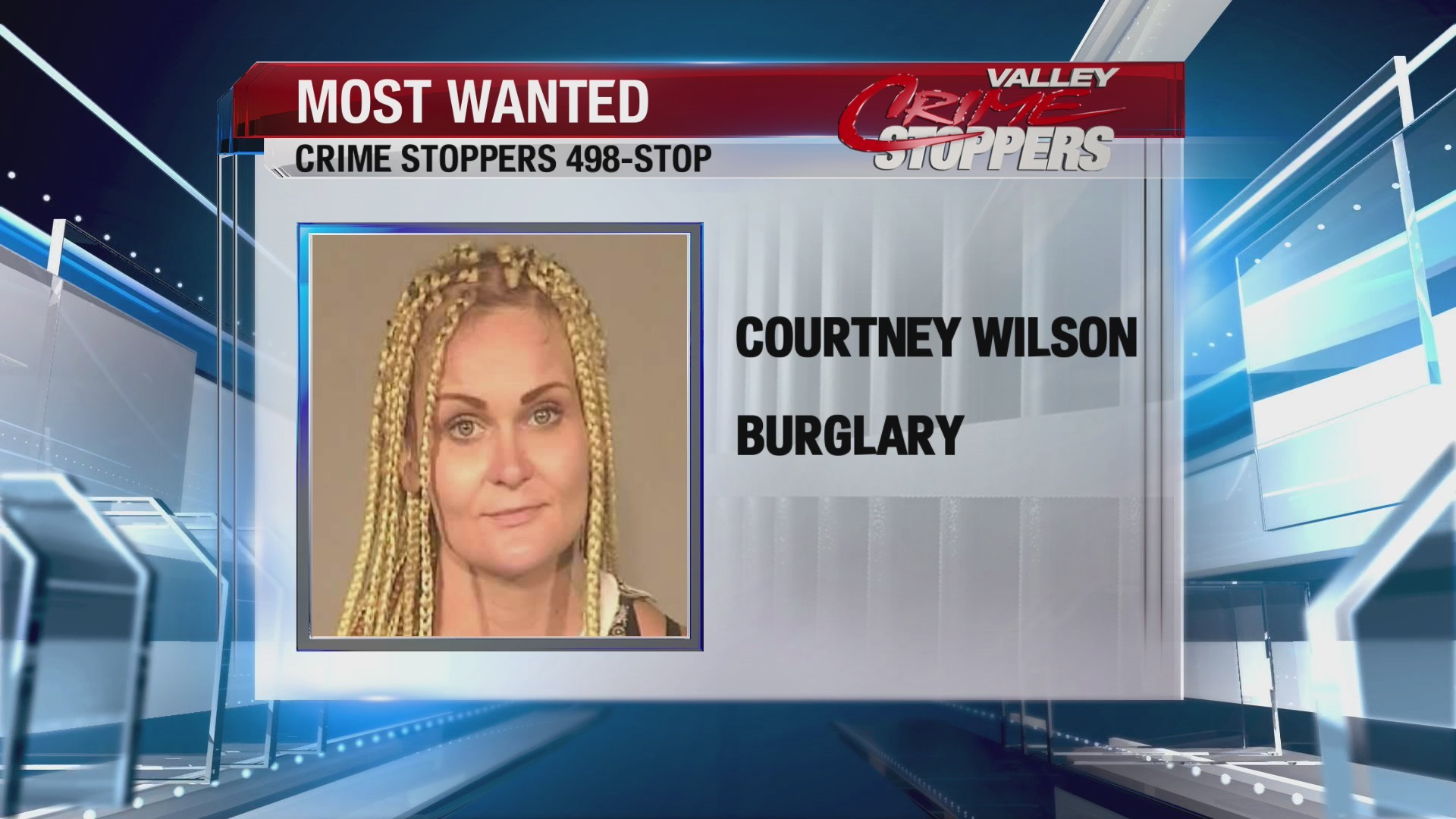 Crime Stoppers Most Wanted: Courtney Wilson