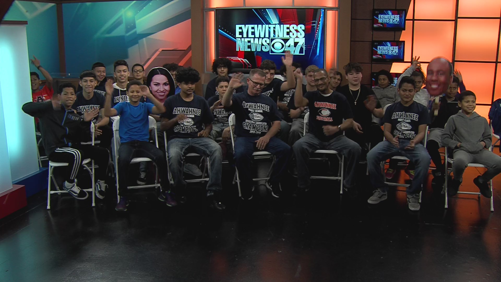 Fresno's Ahwahnee Football Team joins us ahead of the big game