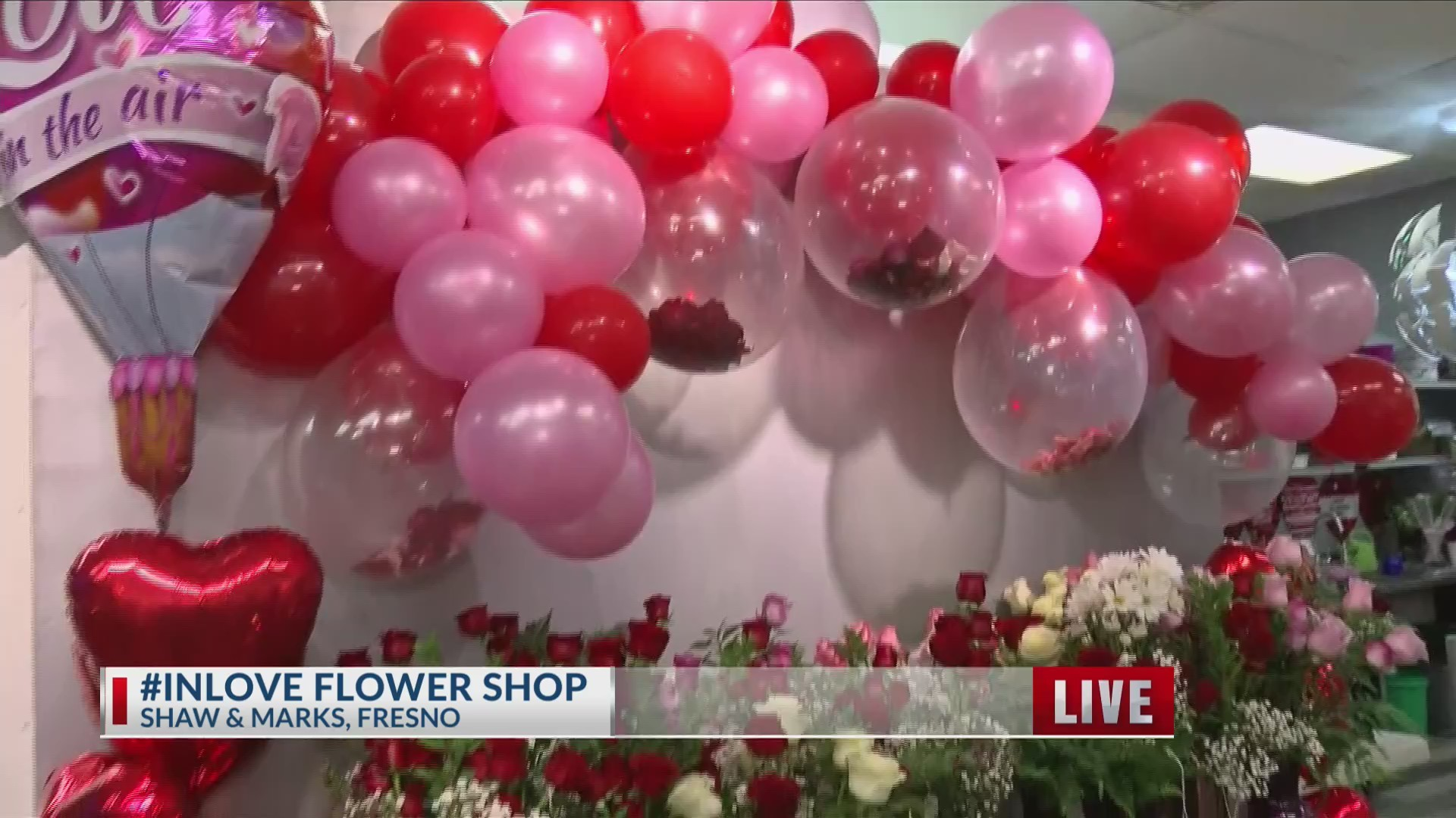Just in time for Valentine's Day, a new flower shop opens up in Fresno Part 4