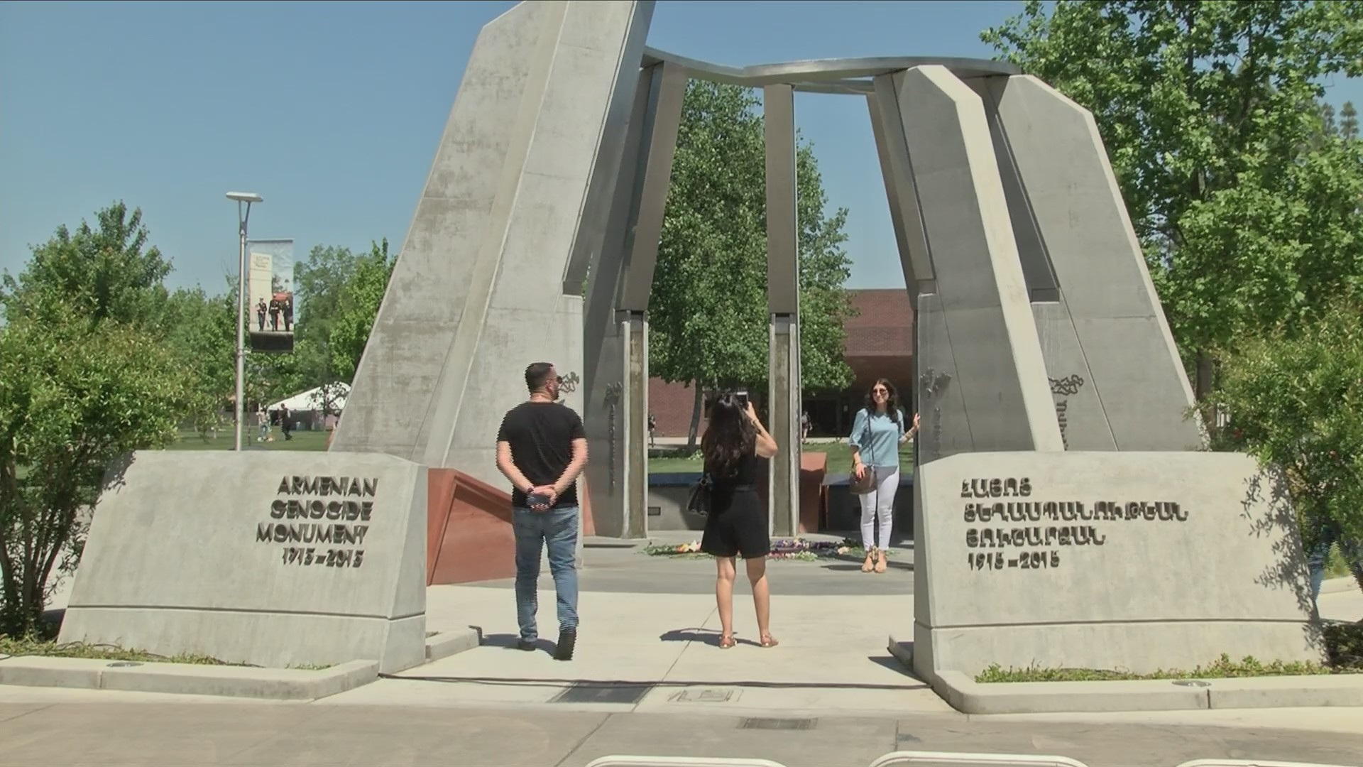 Today the Valley Gathered to Remember the Armenian Genocide