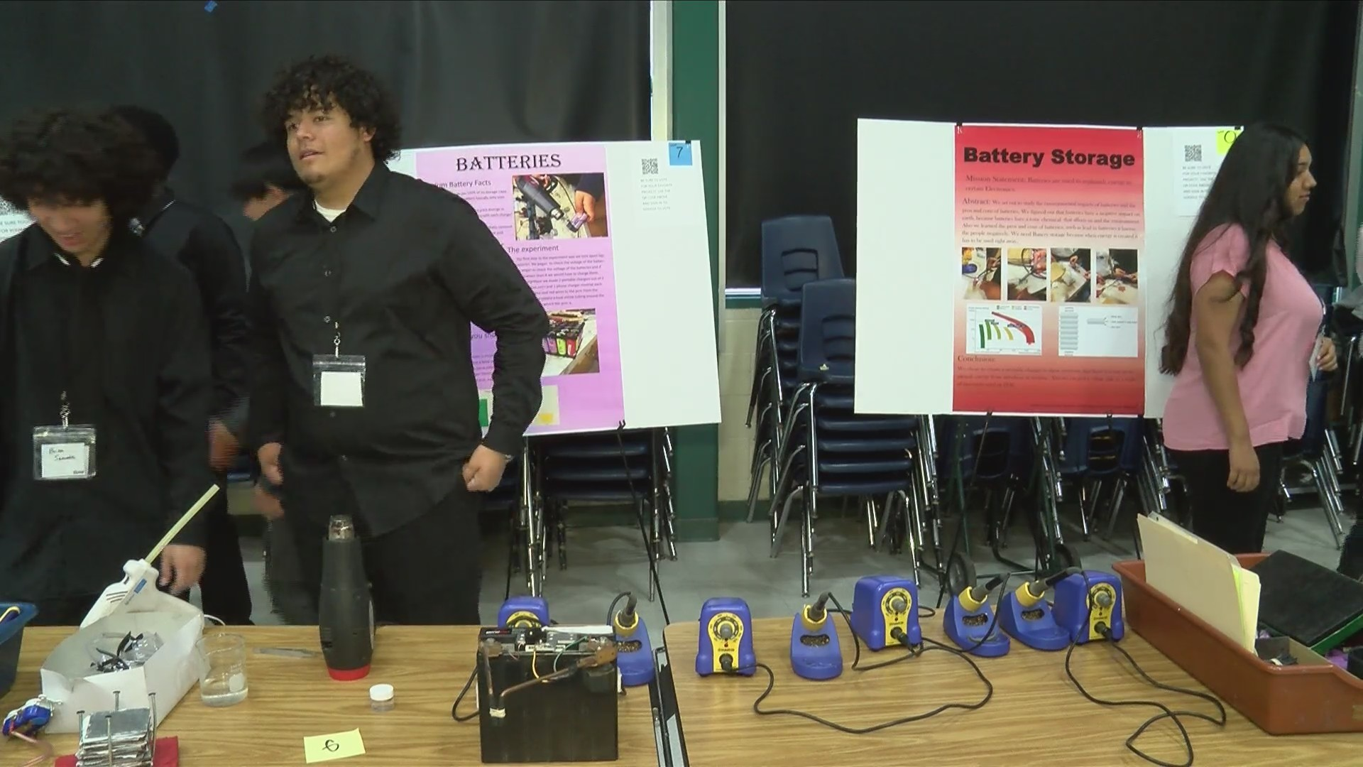 Edison High School Science Fair