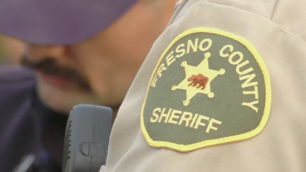 patch on deputy's uniform