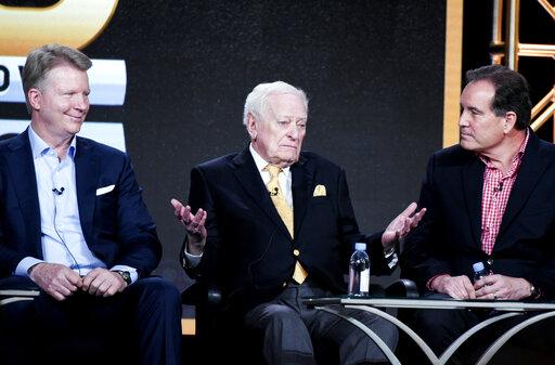 Phil Simms, Jack Whitaker, Jim Nantz