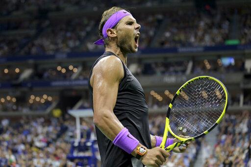 Italy's Berrettini edges Monfils at US Open for 1st Slam SF
