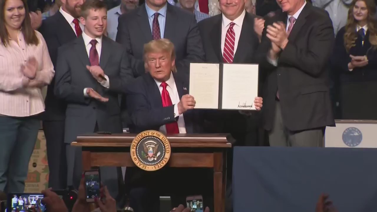 Valley farmers hopeful after President Trump promises to deliver water