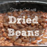 How to Cook with Dried Beans + Bonus Recipe!