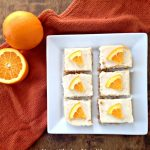 Creamy Orange Bars
