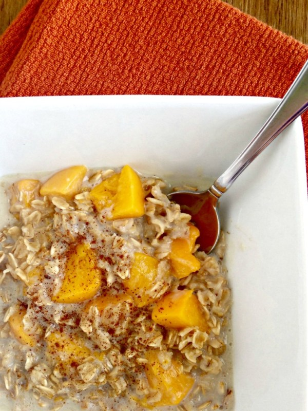 Peaches Cream Oatmeal Your Choice Nutrition