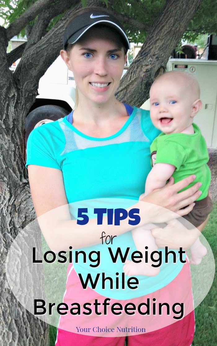 How to lose weight while breastfeeding without losing your milk supply