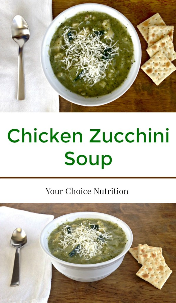 Use up your garden zucchini crop with this Chicken Zucchini Soup. Perfect for a fall day, this soup will bring warmth, comfort and a satisfied belly! Low carb.