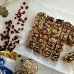 Cranberry Chia Chocolate Chip Granola Bars