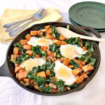 Sweet Potato & Kale Hash with Eggs