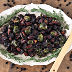 {Award Winning} Roasted Vegetables & Pecans with Wild Blueberry Balsamic Sauce