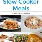 25+ Healthy Slow Cooker Meals