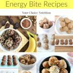 40+ Healthy Energy Bite Recipes