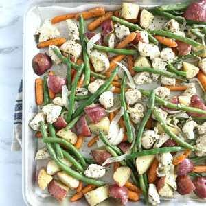 Sheet Pan Garlic & Herb Chicken and Veggies