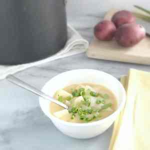 Grandma's Cheesy Potato Soup