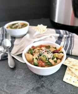 Pressure Cooker Minestrone Soup