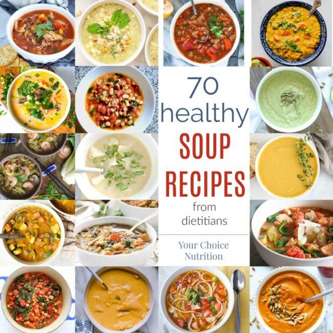 70 Healthy Soup Recipes