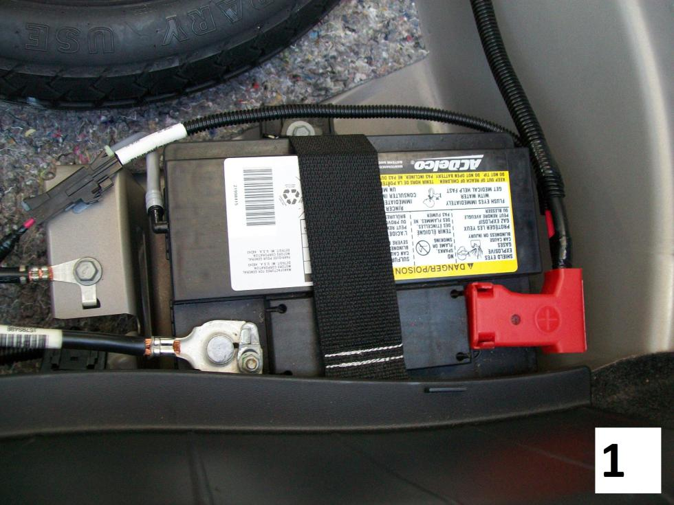 Chevy Cobalt Battery Location
