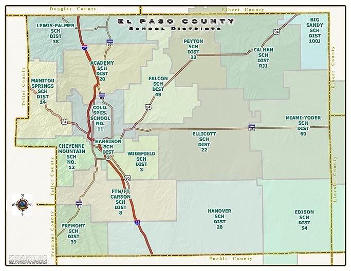 colorado springs el paso county school districts colorado