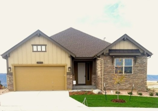 Model home in Cordera