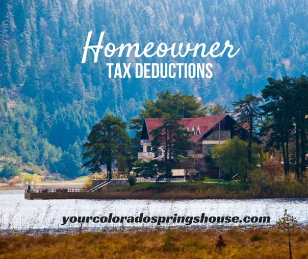 Homeowners Tax Deductions