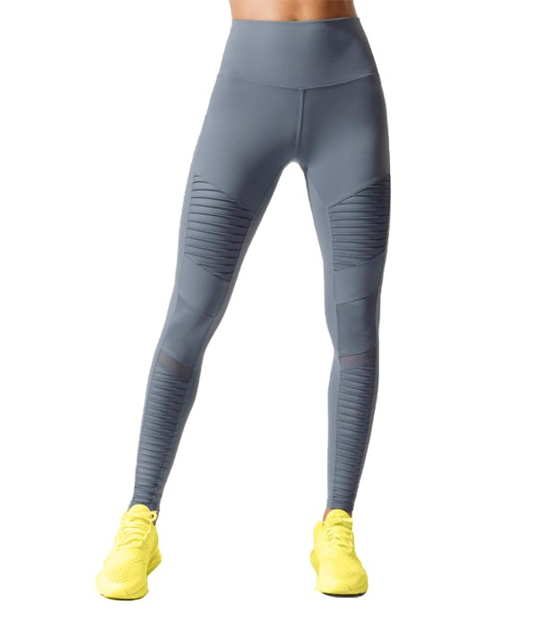 Sportika workout high waist legging model Leg02 grey front