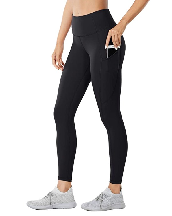 YC- Sportika legging LEG01 amazon walmart woman clothes black side 1