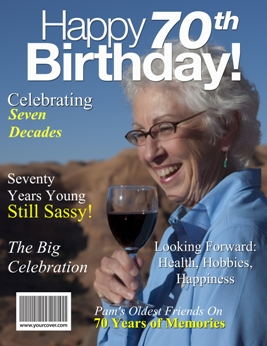 70th birthday yourcover