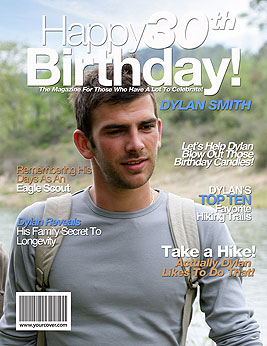 30th birthday yourcover