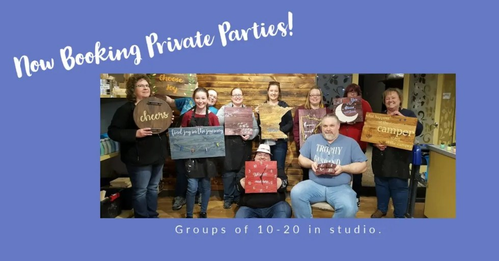 Now booking private parties.